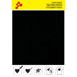 IDVCE06A Black (Sheet) suede thermal transfer film / iDigit