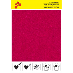 IDVCE21A Magenta (Sheet) suede thermal transfer film / iDigit