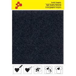 IDVCE18A Anthracite suede termanl transfer film / iDigit