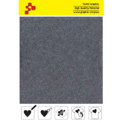 IDVCE11A Cool Grey (Sheet) suede thermal transfer film / iDigit