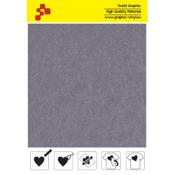 IDVCE19A Light Grey (Sheet) suede thermal transfer film / iDigit
