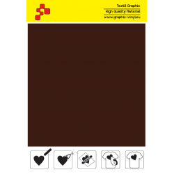 IDVCE14A Chocolate (Sheet) suede thermal transfer film / iDigit