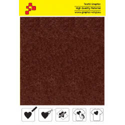 IDVCE22A Brown (Sheet) suede thermal transfer film / iDigit