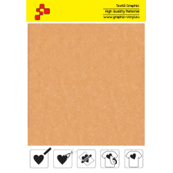 IDVCE16A Beige (Sheet) suede thermal transfer film / iDigit