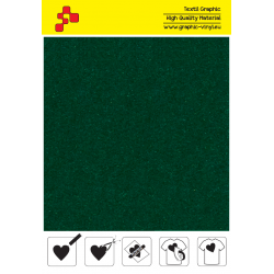 IDVCE10A Green (Sheet) suede thermal transfer film / iDigit