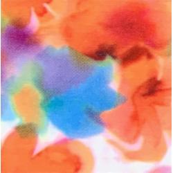 Fantasy Flex Flowers 05 termal transfer film / SEF Textile