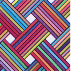 Fantasy Flex Maze 06 termal transfer film / SEF Textile