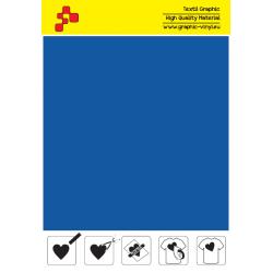 IDM742A Metallic Blue flex termal transfer film / iDigit