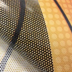OWV675010/610 Perforated White Print Gloss film