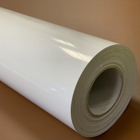 150CLING/500 Electrostatic White Glossy film / Kemica