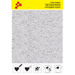 IDD700A White Pearl Glitter (Sheet) thermal transfer film / iDigit
