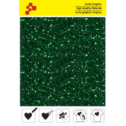 IDD750A Green Pearl Glitter (Arch) thermal transfer film / iDigit