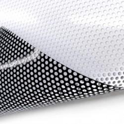 OWV675010/500 Perforated White Print Gloss film