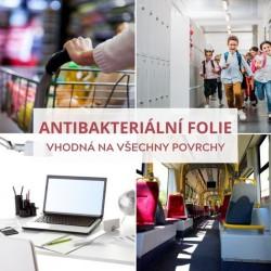 350 Antibacterial clear antibacterial self-adhesive foil / iDigit